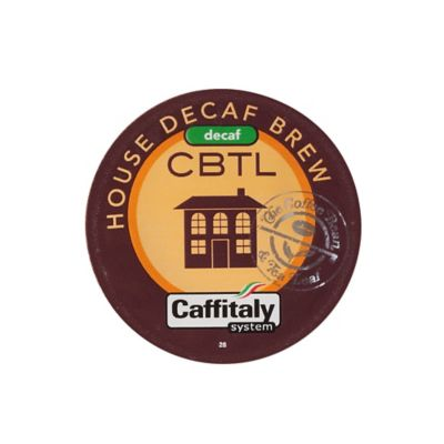 The Coffee Bean and Tea Leaf® CBTL™ Decaf House Blend Coffee Capsules