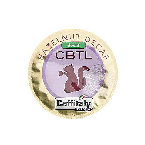 The Coffee Bean and Tea Leaf® CBTL™ Decaf Hazelnut Coffee Capsules