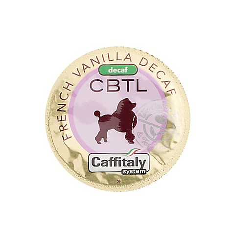The Coffee Bean and Tea Leaf® CBTL™ Decaf French Vanilla Coffee Capsules