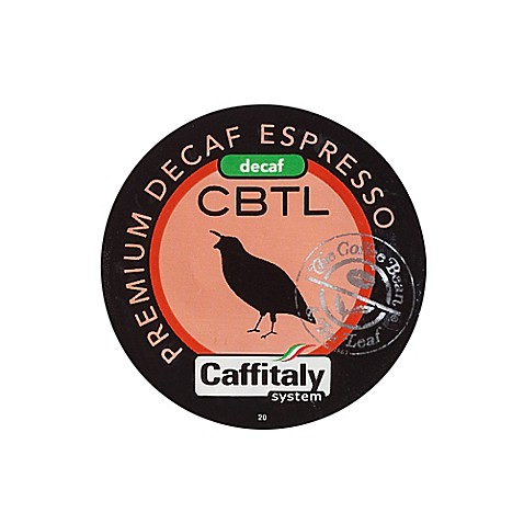 The Coffee Bean and Tea Leaf® CBTL™ Decaf Espresso Coffee Capsules