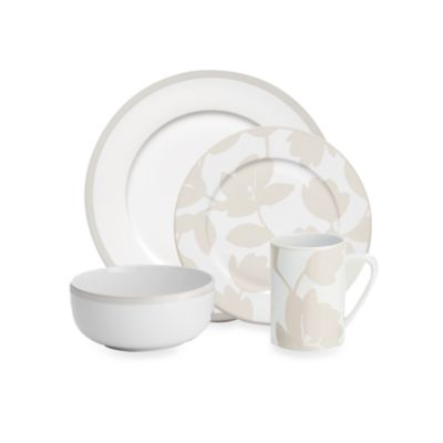 echodesign Flirty Floral 4-Piece Place Setting