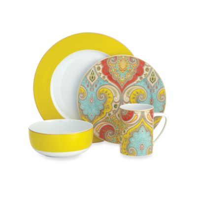 echodesign Latika 4-Piece Place Setting