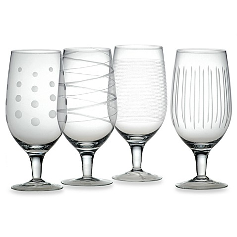 Mikasa® Cheers 20 oz. Iced Beverage Glasses (Set of 4)