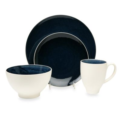Baum Max 16-Piece Dinnerware Set in Cobalt