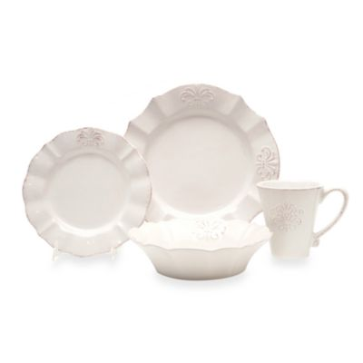 Baum Provence 16-Piece Dinnerware Set in Ivory