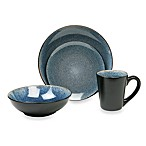 Simplicity Blue 16-Piece Dinnerware Set