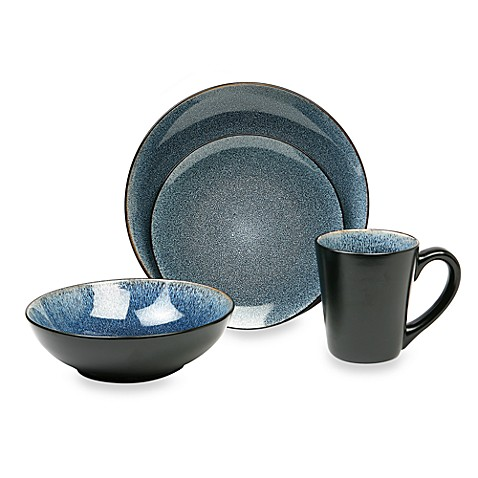 Baum Simplicity 16-Piece Dinnerware Set in Blue