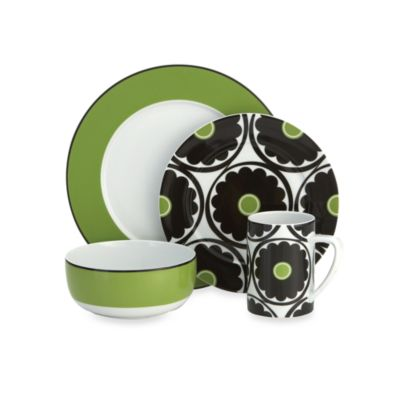 Echo Design™ That 70s Floral 4-Piece Place Setting
