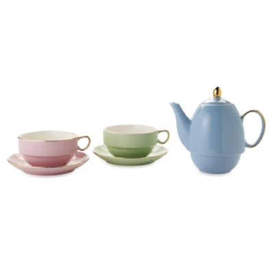 Classic Coffee & Tea 20-Ounce Teapot for Two in Assorted