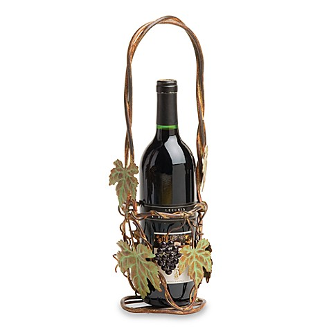 Autumn Concord Metal Wine Basket