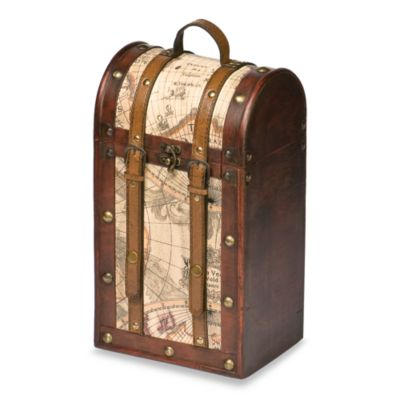 2-Bottle Treasure Map Wine Tote
