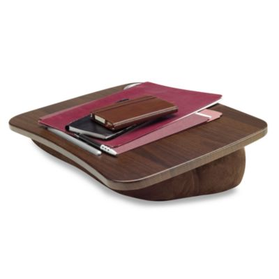 Brookstone® e-Pad® Portable Laptop Desk in Chocolate