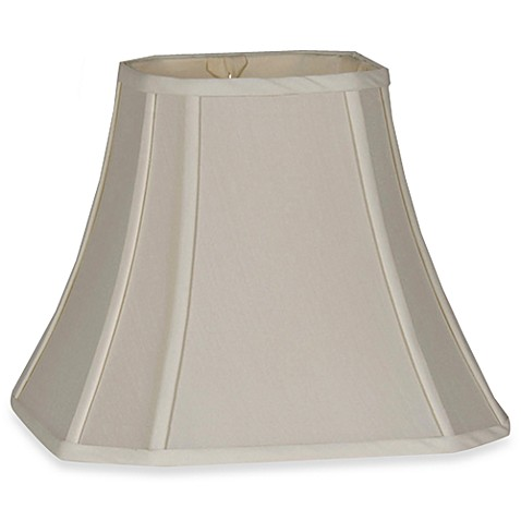 Mix & Match Medium 11-Inch Fabric Lamp Shade in Ivory