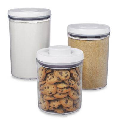 Oxo Good Grips® 3-Piece POP Canister Set