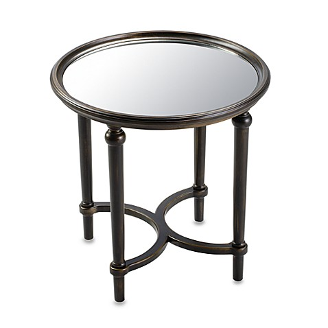 Bombay® Oliver Square Mirror Top Table