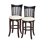 Hillsdale Bayberry Swivel Bar Stool and Counter Stool