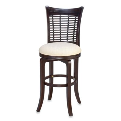 Hillsdale Bayberry 30-Inch Swivel Barstool in Dark Cherry