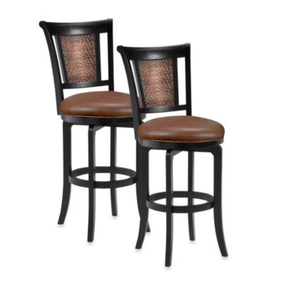Hillsdale Cecily 26.5-Inch Swivel Counter Stool