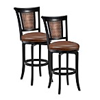 Hillsdale Cecily Swivel Barstool and Counter Stool