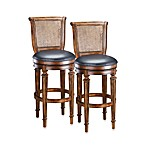 Hillsdale Dalton Swivel Counter Stool and Swivel Barstool
