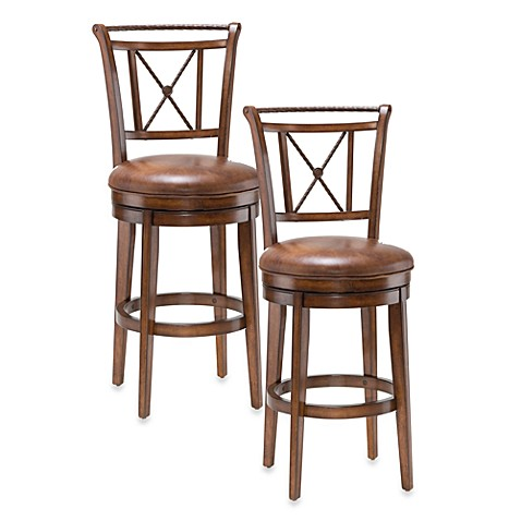 Hillsdale Lemans Swivel Barstool and Counter Stool