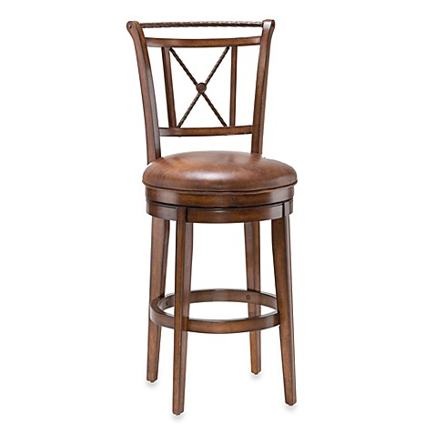 Hillsdale Lemans 26-Inch Swivel Counter Stool