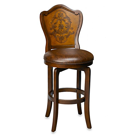 Hillsdale Lyon Swivel Bar Stool and Counter Stool