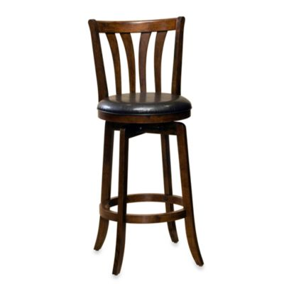 Hillsdale Savana 26-Inch Swivel Counter Stool in Cherry