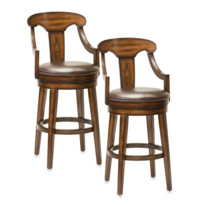 Hillsdale Upton Swivel 24-Inch Counter Stool