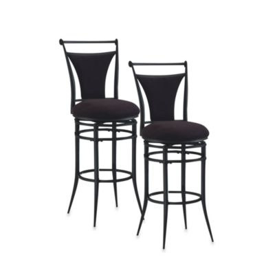 Hillsdale Cierra Swivel Bar Stool and Counter Stool