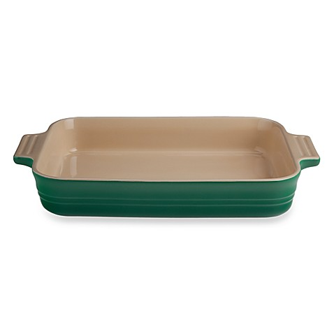 Le Creuset® 3-Quart Rectangular Baking Dish in Fennel