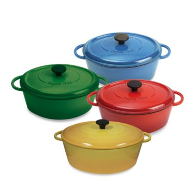 Fontignac Oval Cast Iron 5.5-Quart Casserole