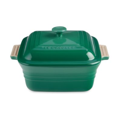 Le Creuset® Fennel Covered 3-Quart Square Baker