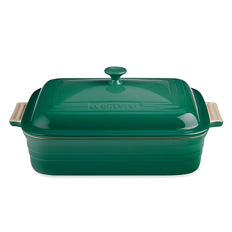 Le Creuset® Covered 4.5-Quart Rectangular Baker in Fennel