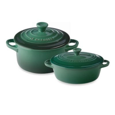buy le creuset mini round cocotte in marseille from bed. Black Bedroom Furniture Sets. Home Design Ideas