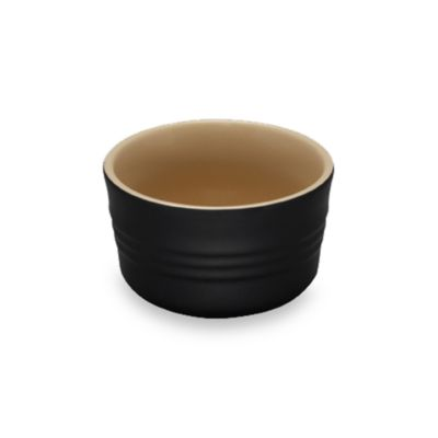 Le Creuset® Stoneware 7 oz. Stackable Ramekin in Onyx