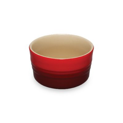 Le Creuset® Stoneware 7 oz. Stackable Ramekin in Cherry