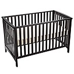 Child Craft London Euro Style Crib in Jamocha