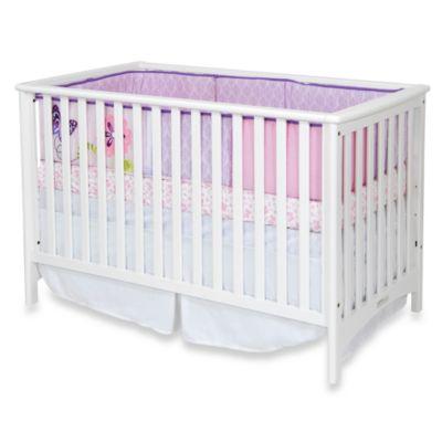 Matte White Convertible Crib