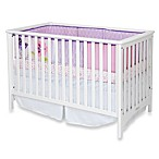 Child Craft London Euro Style Crib in Matte White