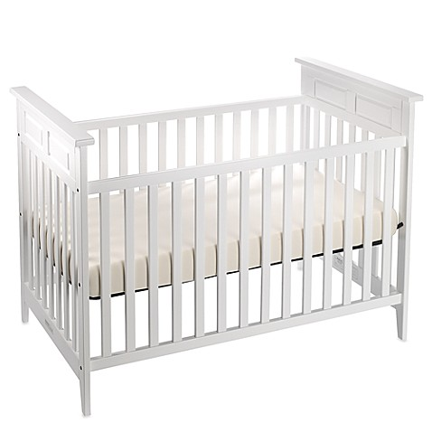Child Craft Logan Traditional Style Crib in Matte White