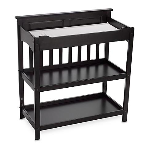 child craft logan upscale changing table in jamocha. Black Bedroom Furniture Sets. Home Design Ideas