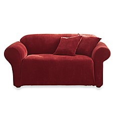 Sure Fit® Stretch Sterling Loveseat Slipcover
