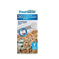 FoodSaver® FreshSaver® One-Gallon 20-Count Zipper Bags