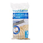 FoodSaver® FreshSaver® One-Quart 26-Count Zipper Bags