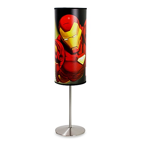 Ironman -FootFlight-Foot Cylindrical Occasional Lamp