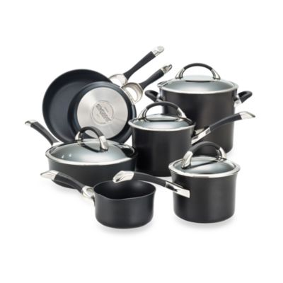 Circulon® Symmetry™ Black 11-Piece Cookware Set
