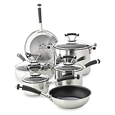 Circulon® Contempo™ Stainless Steel Non-Stick 10-Piece Cookware Set and Open Stock