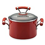 Circulon® Contempo™ Red Non-Stick 3-Quart Covered Saucepot