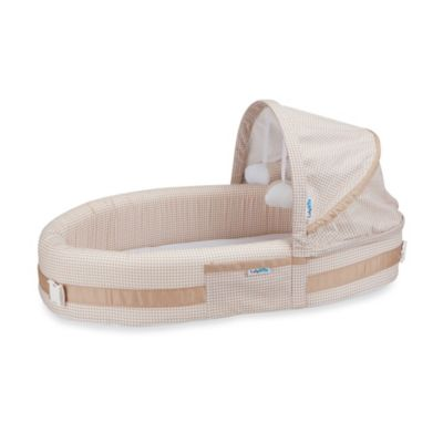 LulyBoo® Baby Lounge & Travel Bed in Natural